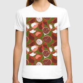 Pomegranate green T-shirt