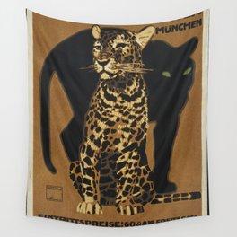 Zoologischer Garten Munchen by Ludwig Hohlwein Wall Tapestry