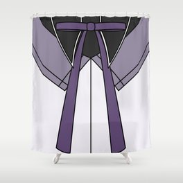 Homura Akemi Magical Girl Dress Shower Curtain