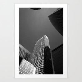 Chicago Skyscrapers 2010 Art Print