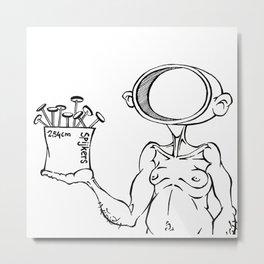 Head Like A Hole - NIN Metal Print
