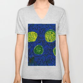 The Cucumbers Unisex V-Neck