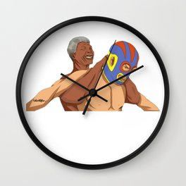 Full Nelson Mandela Wall Clock