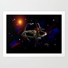Deep Space 9 Art Print