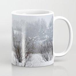 Field trees in winter Coffee Mug