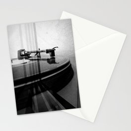 Turntable Retro Stationery Cards