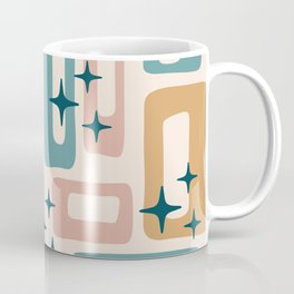 Retro Mid Century Modern Abstract Pattern 126 Coffee Mug