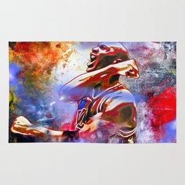 M. Jordan Painted Rug