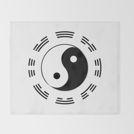 I Ching Throw Blanket