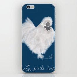 La poule soie iPhone Skin