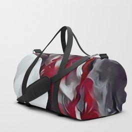 Red smoke Duffle Bag