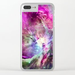 NEBULA ORION HEAVENLY CELESTIAL MIRACLE Clear iPhone Case