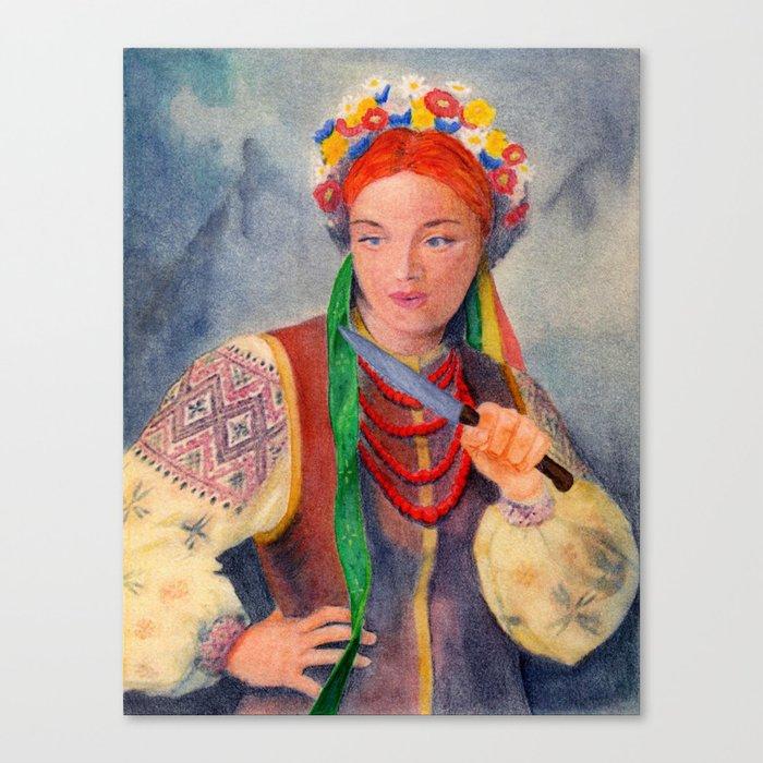 Gretchen Canvas Print