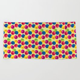 Colorful Berries Beach Towel