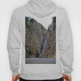 Gateway to the Uncompahgre Gorge - Around this Curve is a Frightening Road Hoody