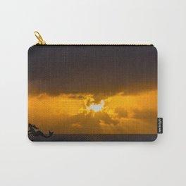 Mermaid Sun Rays Carry-All Pouch