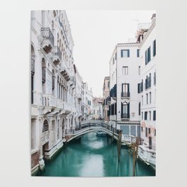 The Floating City - Venice Italy Architecture Photography Poster