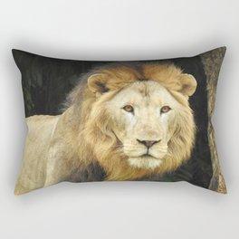 Lion the King of Beasts Rectangular Pillow