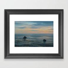 Tiderays Framed Art Print