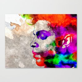 Prince Watercolor Canvas Print