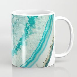On the edge of an icy agate abyss Coffee Mug
