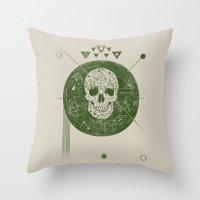 sagittarius Throw Pillows featuring Sagittarius by Josh Ln