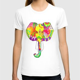 The Colorful Elephant T-shirt
