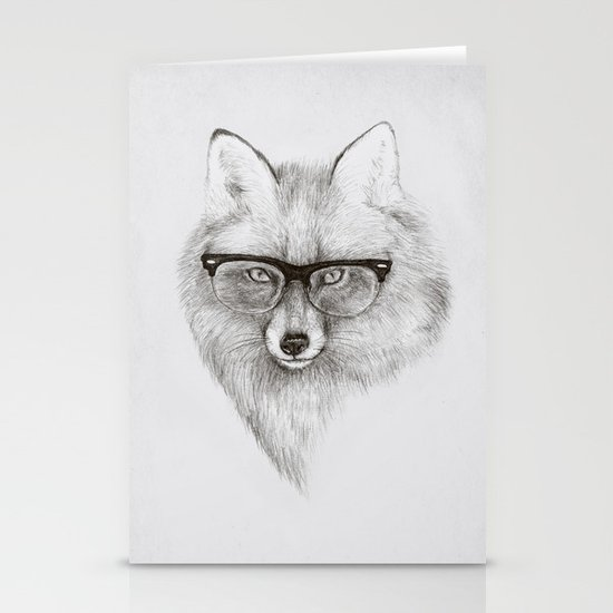 Fox Specs Stationery Cards