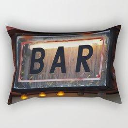 Bar Sign Rectangular Pillow