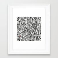 waldo Framed Art Prints featuring Where's Waldo? by Ax38