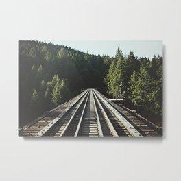 85 Meter High Trestle  Metal Print