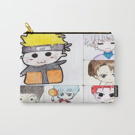 Chibi anime collage Carry-All Pouch