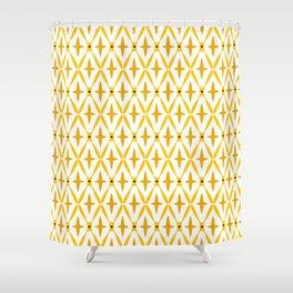 Golden Integretion Shower Curtain