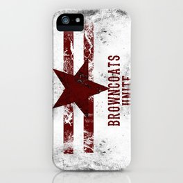 BrownCoats iPhone Case
