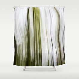Abstracts Of Trees Shower Curtain
