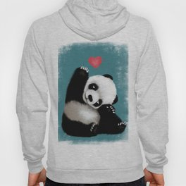 Panda Love (Color) Hoody