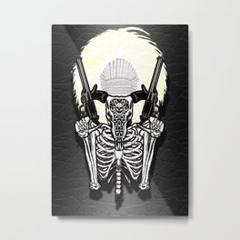 The Shaman of Texarcaidia Metal Print