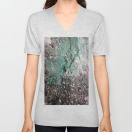 Pour on Pine by Sharon Perry. Unisex V-Neck