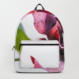 Old red rose Backpack