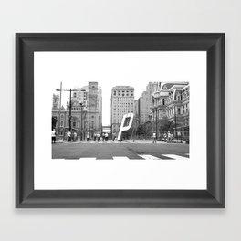 (P)NB –Philadelphia Framed Art Print