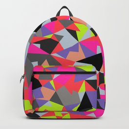 Crystal cube Backpack