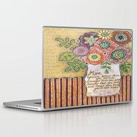 mom Laptop & iPad Skins featuring Mom by Jamie Morath Art