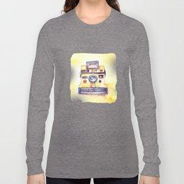 Vintage gadget series: Polaroid OneStep camera Long Sleeve T-shirt