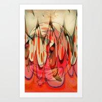 circus Art Prints featuring Circus by Jose Luis