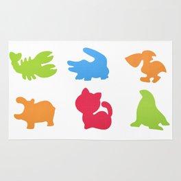 Set of animals Rug