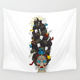 The Voodoo Queen Wall Tapestry