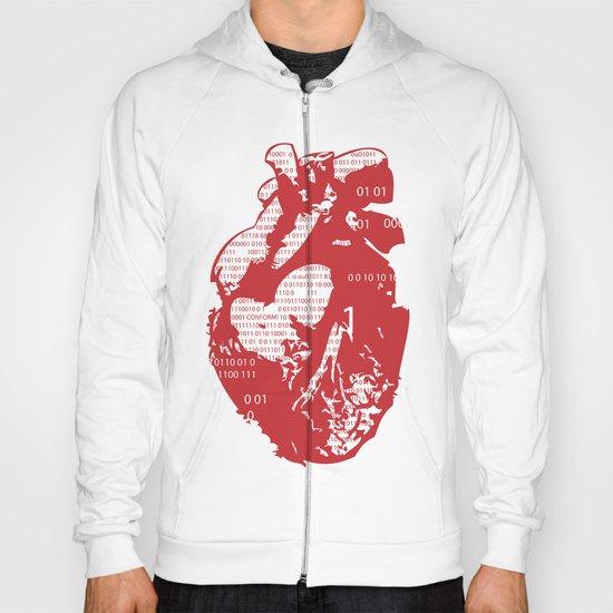 Binary heart Hoody