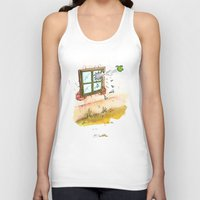 apple Tank Tops featuring Apple! by Pepan