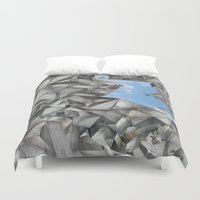 cage Duvet Covers featuring Urban Cage by Izuma/Double Room