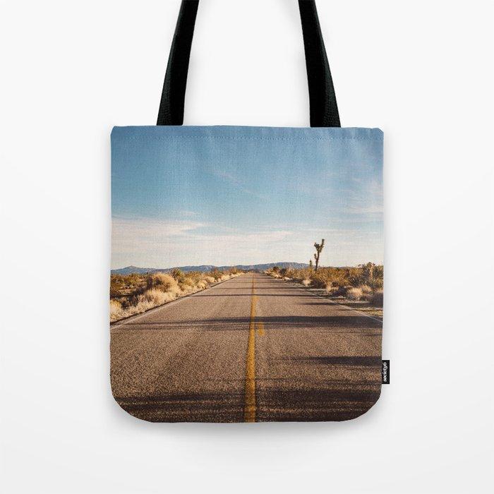 Joshua Tree Road Tote Bag